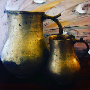 Vintage Brass Pitchers