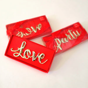 Love and Party Beer Bottle Opener