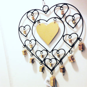 Heart Outdoor Chime