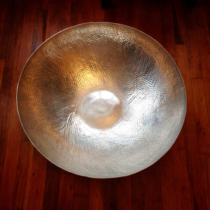 Large Metal Large Bowl 25''