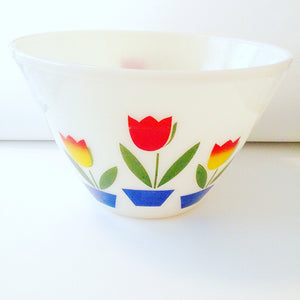 Official Oven Fire-King Ceramic Bowl Vintage Set