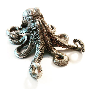 Metal Octopus Sculpture
