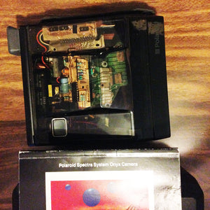 Polaroid Spectra System Onyx Camera with Plastic Case