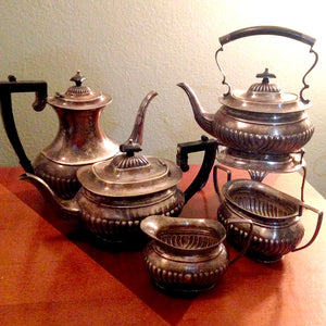 Vintage Sheffield EPNS Tea Pot Collection