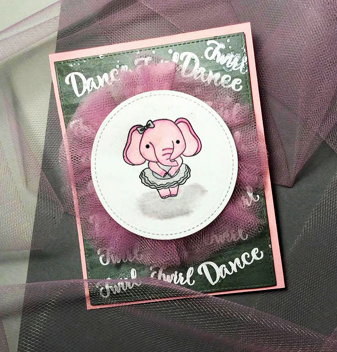 Card By Anthony~ Dance & Twirl stamps & Dies