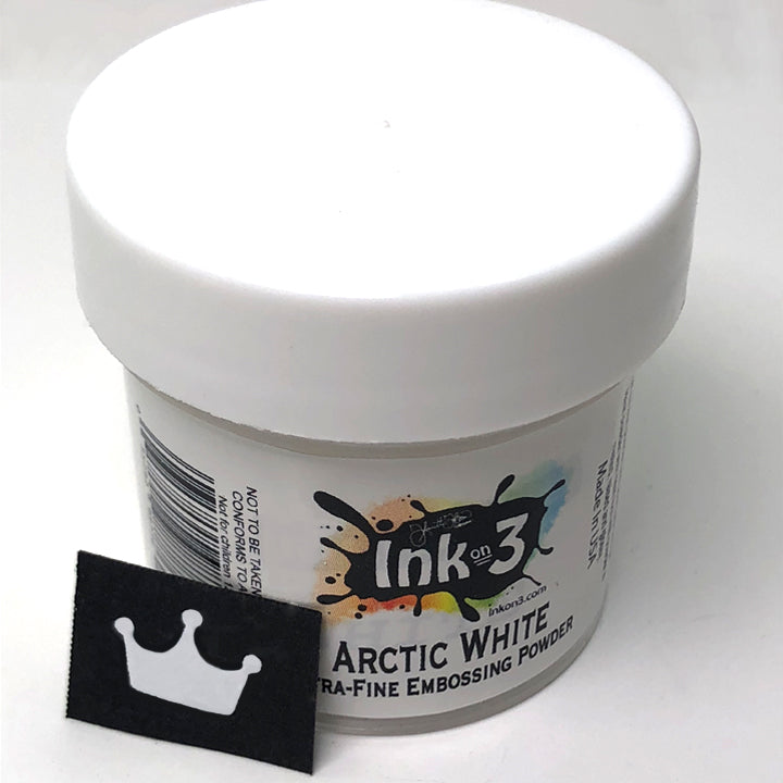 Arctic White Ultra Fine Embossing Powder