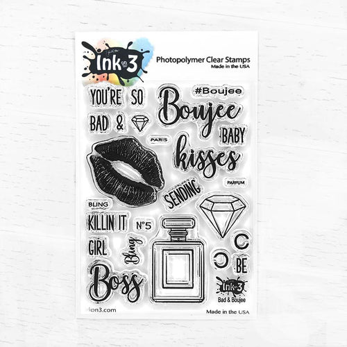 Bad & Boujee Clear Stamps inkon3.com