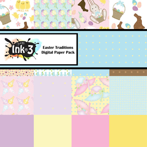 Pretty In Pink Digital Paper Pack