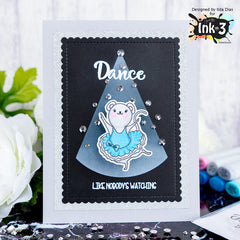 Card By Ilda~ Dance & Twirl stamps & Dies