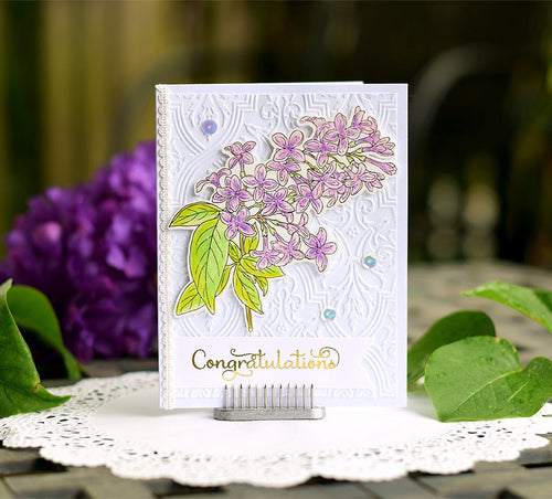 Card Example  ~ using Lilac Dreams Stamp Set