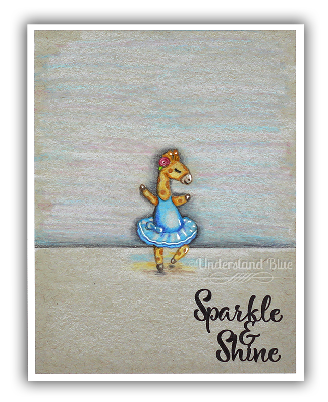 Card By Lydia F.~ Dance & Twirl stamps & Dies