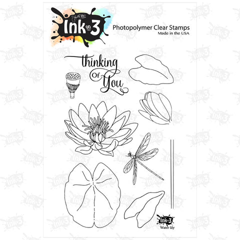 Dogwood Flower 3x4 Clear Stamp Set