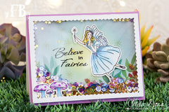 Card Example by Ilda ~ using Fairy Wishes Stamp Set