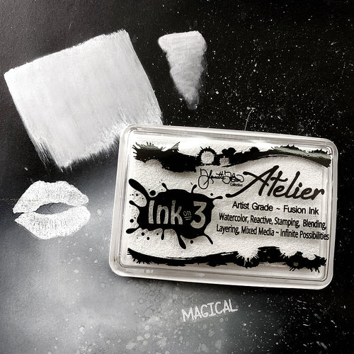 Atelier Shark Tooth White ~ Artist Grade Fusion Ink Pad