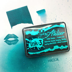 Atelier Trinity Teal ~ Artist Grade Fusion Ink Pad