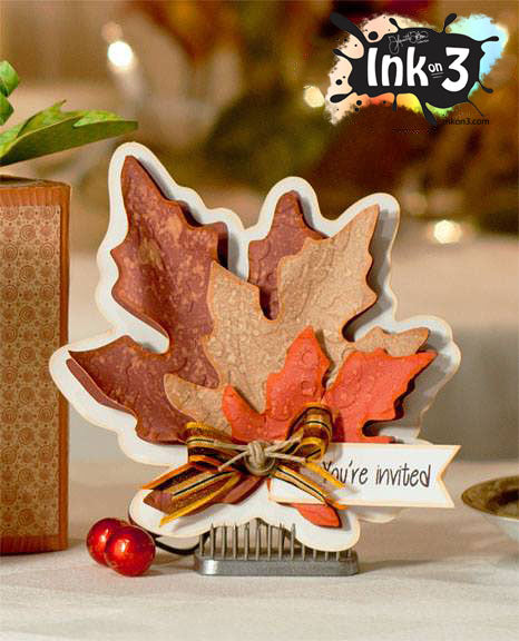 Leaf Shape Card - SVG Cut files