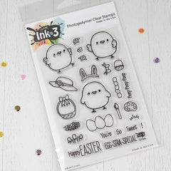 Lil Chicks Clear Stamps inkon3 .com