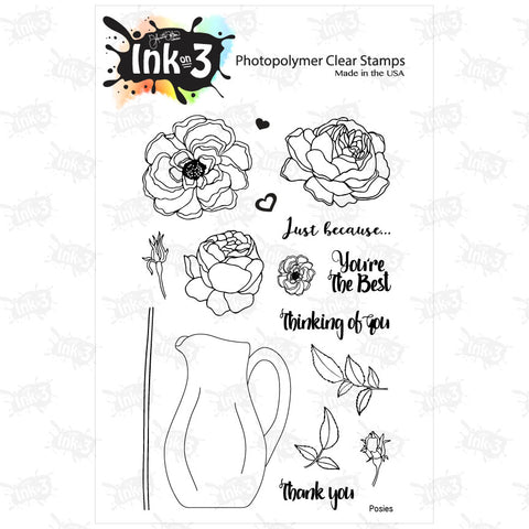 Sugar Skull 3x4 Clear Stamp Set