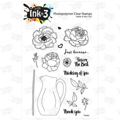 Posies Clear Photopolymer Stamp Set