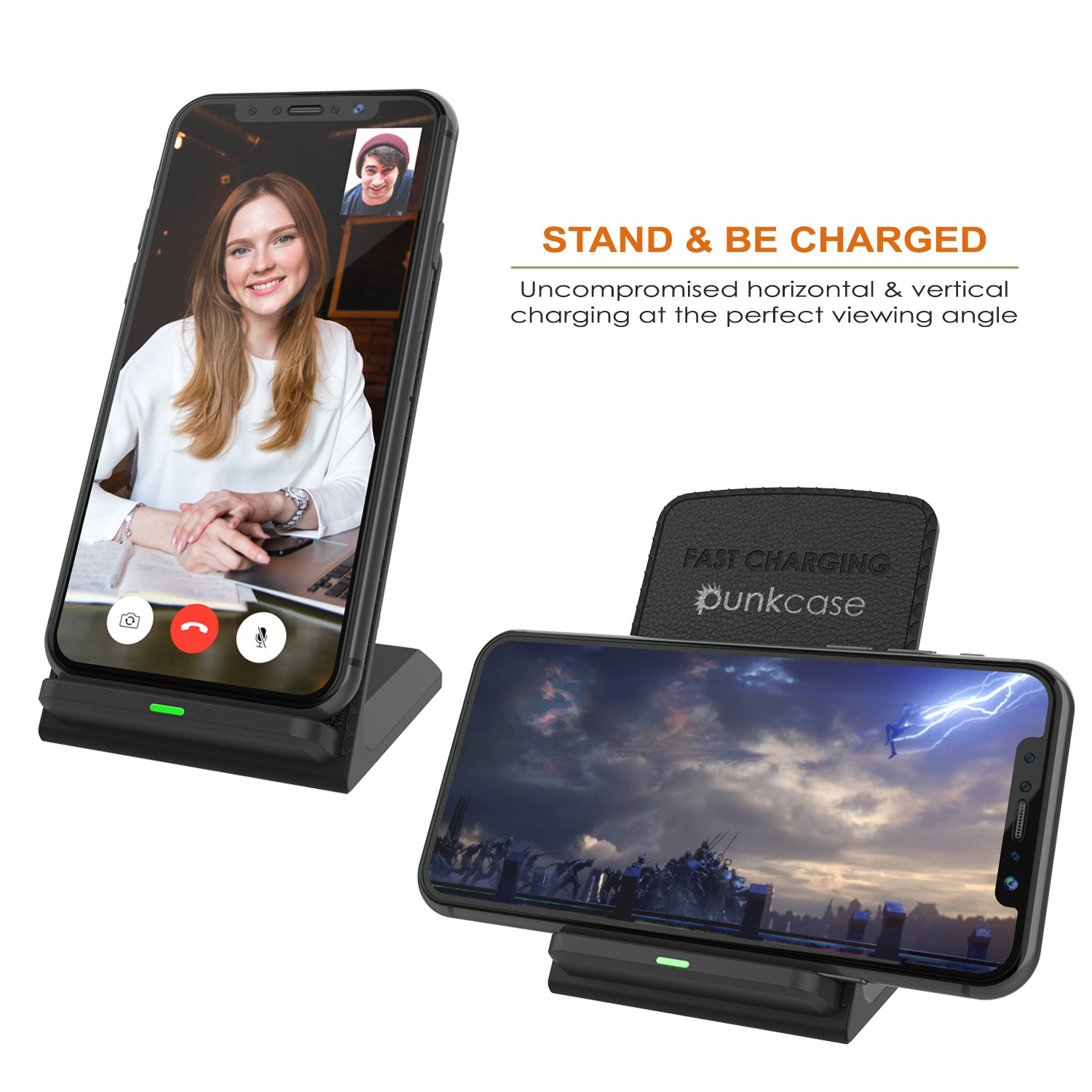 Punkcase Wireless Phone Charging Station