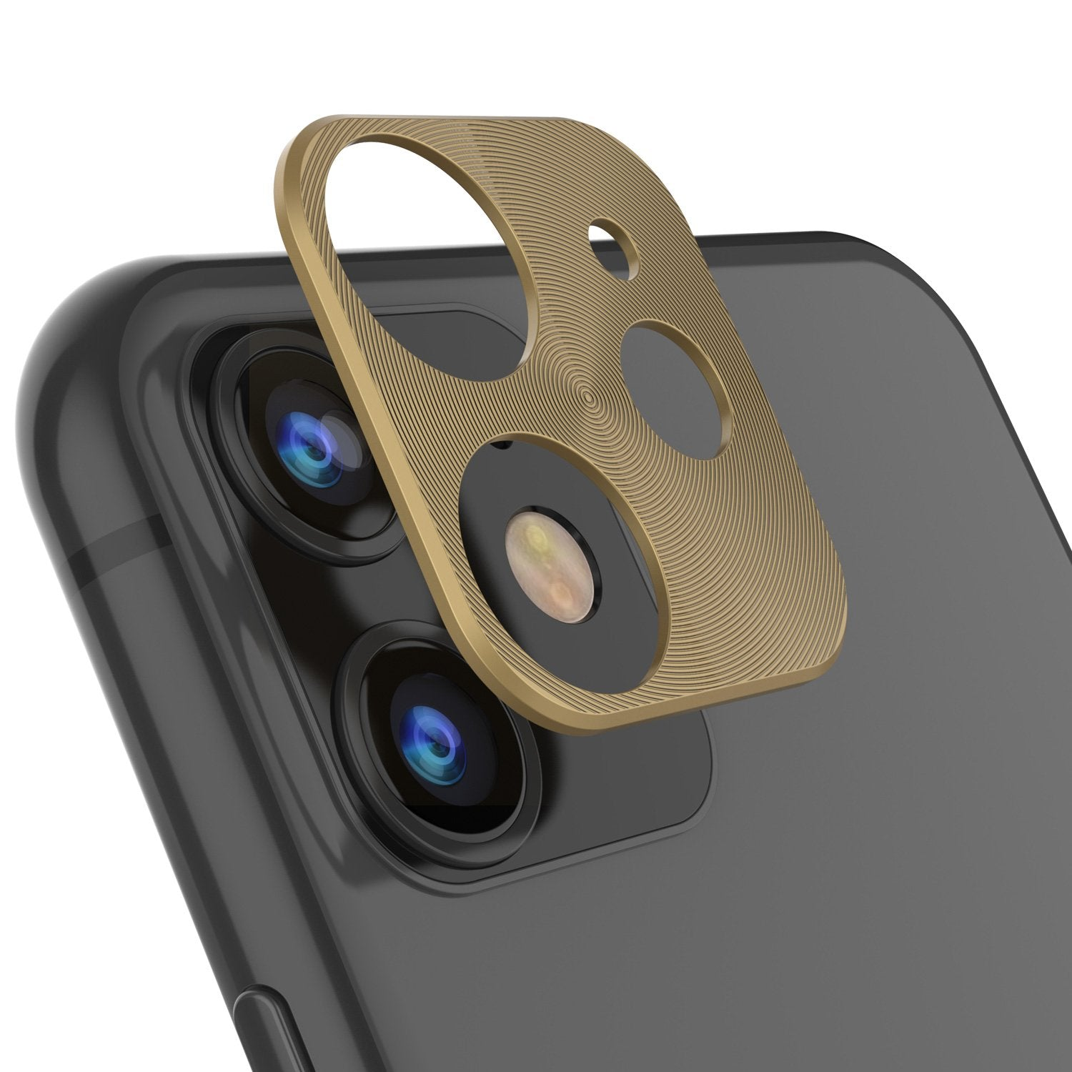 Punkcase iPhone 11 Camera Protector Ring [Gold]