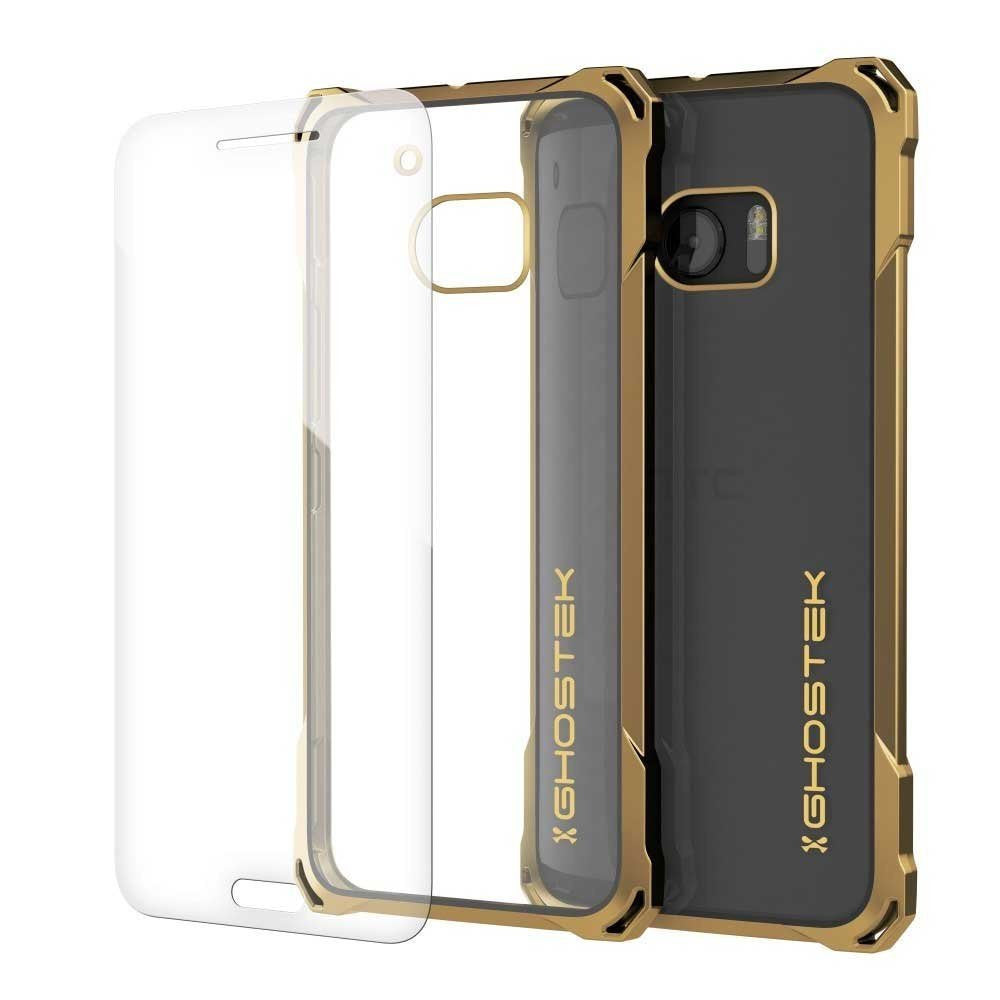HTC 10 Case, Ghostek® Covert Gold Series Premium Slim Hybrid | w/Screen Protector | Ultra Fit