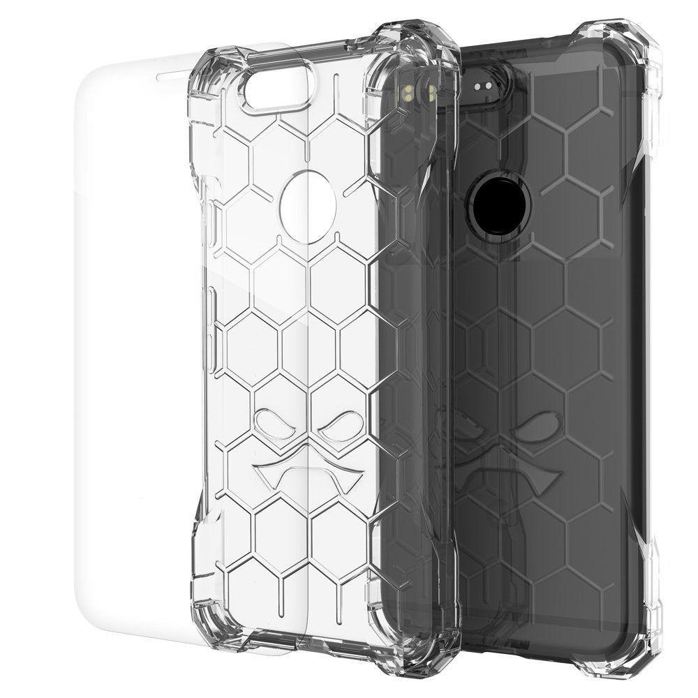 Google Pixel Case, Ghostek® Covert Clear, Premium Impact Protective Armor | Lifetime Warranty Exchange