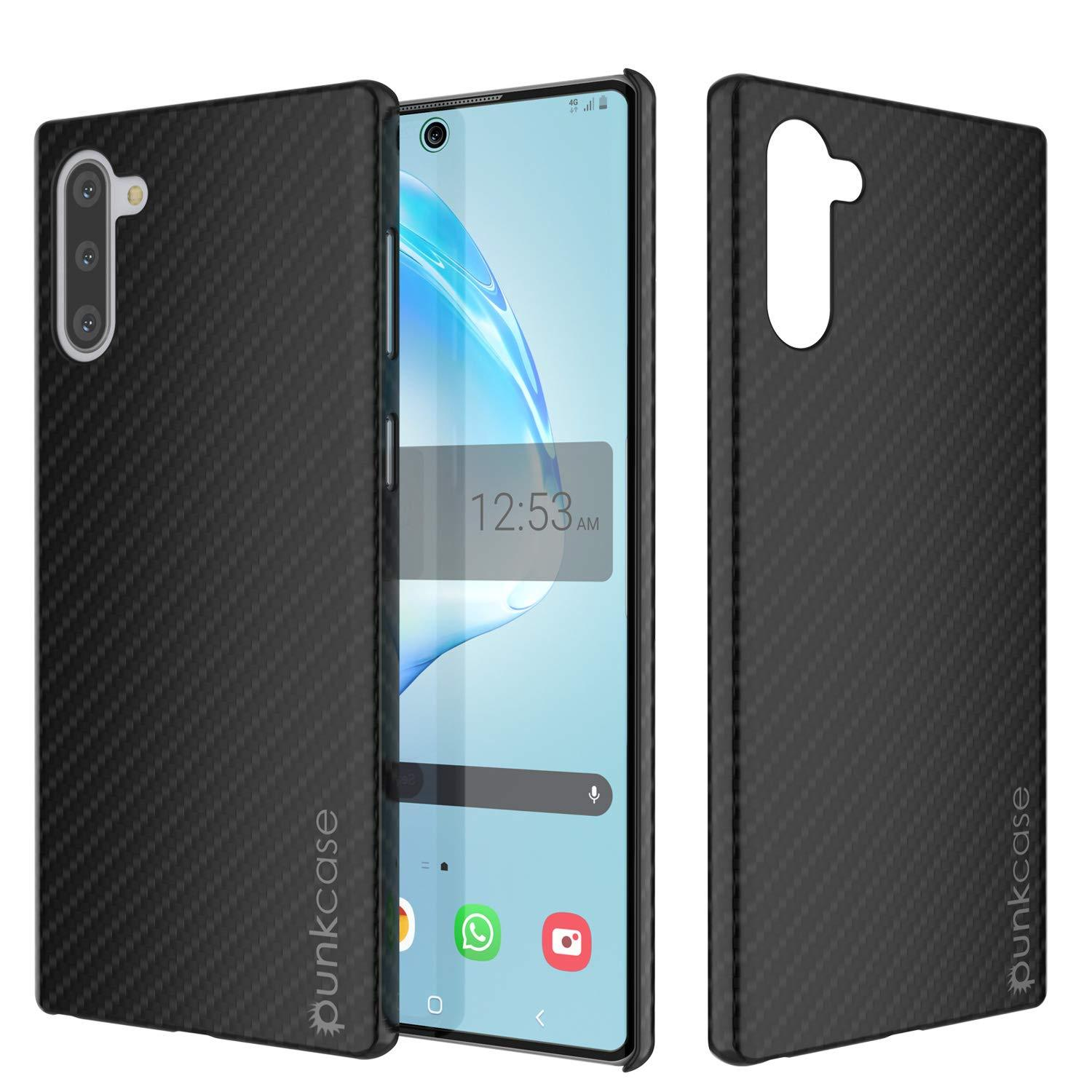 Galaxy Note 10 Case, Punkcase CarbonShield, Heavy Duty & Ultra Thin Cover