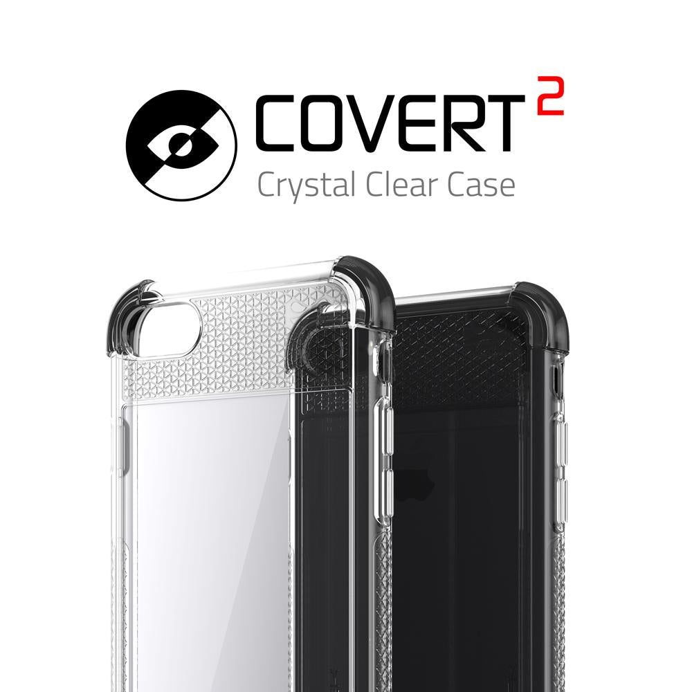 iPhone 7 Case, Ghostek Covert 2 Series for iPhone 7 & iPhone 7 Protective Case [BLACK]