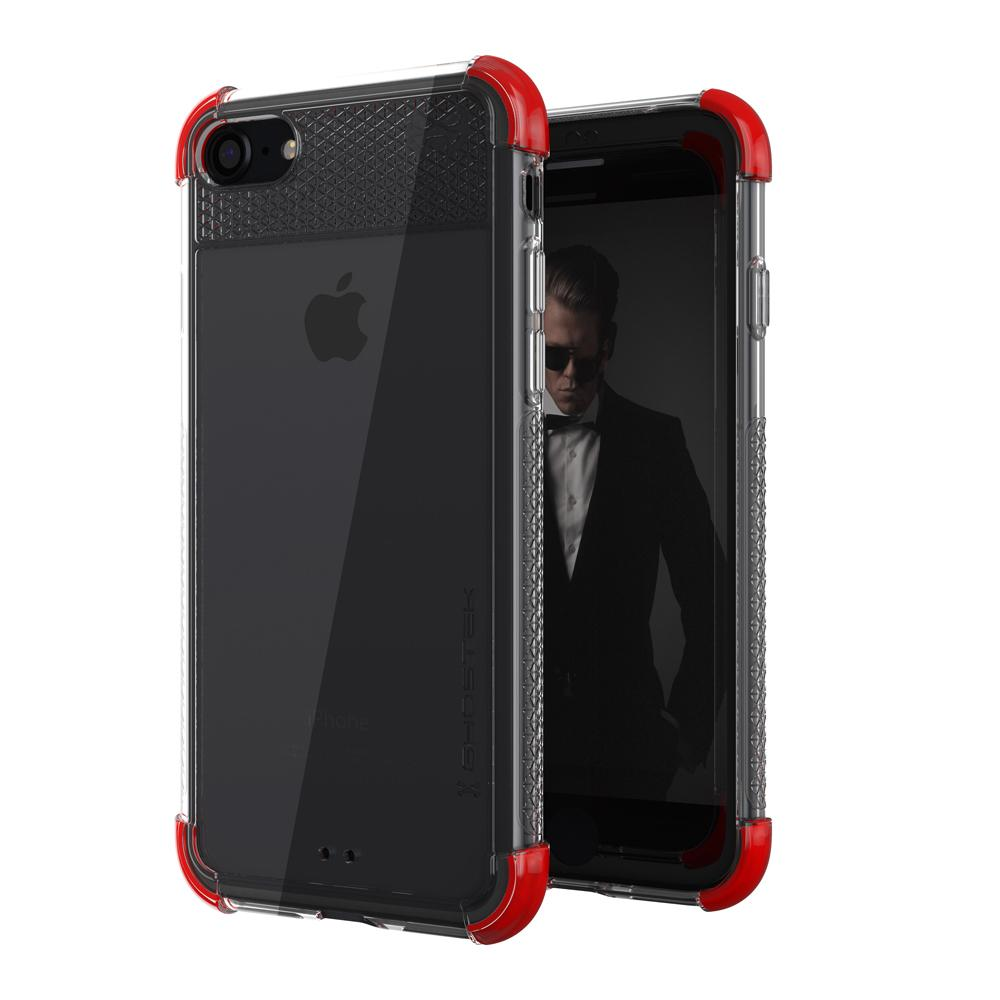 iPhone 7 Case, Ghostek Covert 2 Series for iPhone 7 Protective Case [RED]