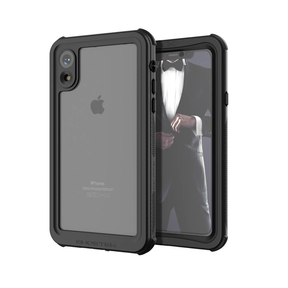 iPhone Xr  Case ,Ghostek Nautical Series  for iPhone Xr Rugged Heavy Duty Case |  BLACK