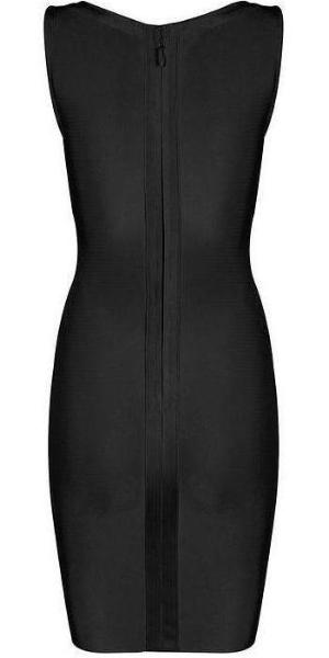 Black Lace Up Bandage Midi Dress | On Sale | Baddies Run Town UK