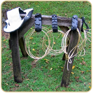 Rubber Hat, and rope Lariats for tire swings
