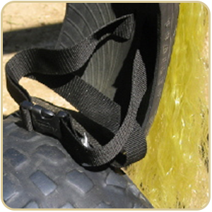 tire swing safety belt