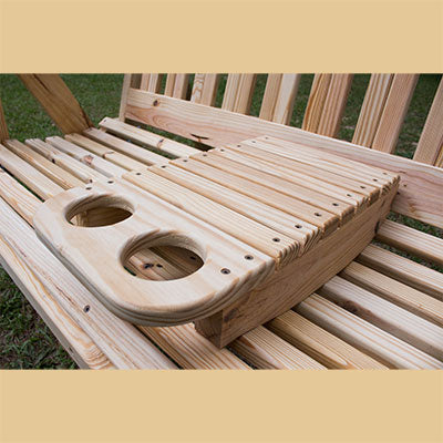 Portable Cup Holder - Porch Swing Attachment