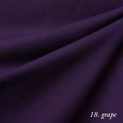 grape crepe chiffon