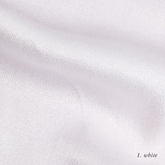 WHITE VISCOSE SATIN