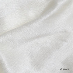 CREAM VISCOSE SATIN