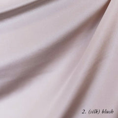 blush silk crepe de chine