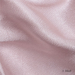 BLUSH VISCOSE SATIN