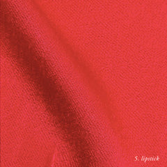LIPSTICK VISCOSE SATIN