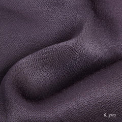 GREY VISCOSE SATIN