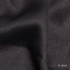 BLACK VISCOSE SATIN