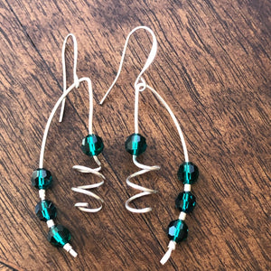 Corkscrew Earrings