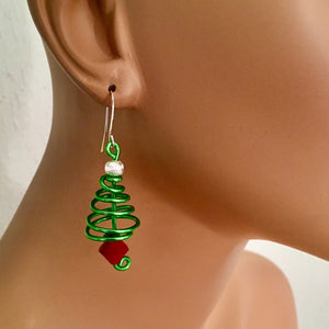 Green Christmas Tree with Red Accents from the Christmas Collection