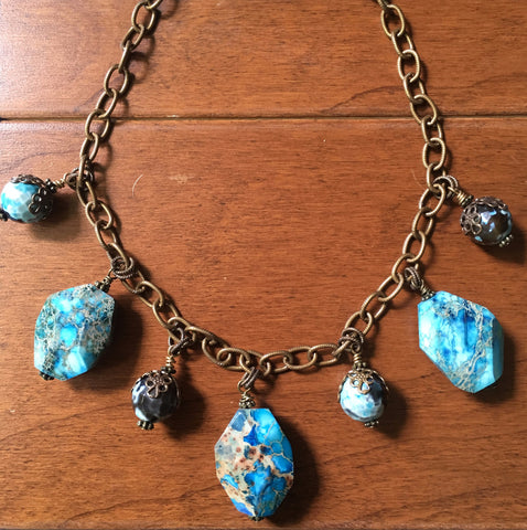 Blue Bayou Necklace