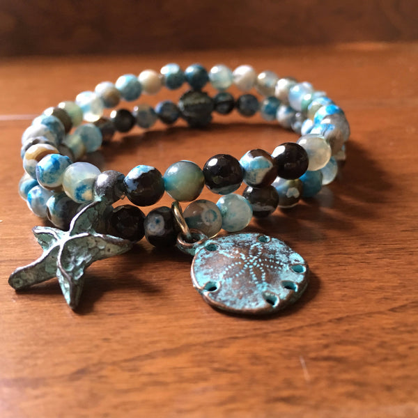 Dreaming of the Sea Bracelet Set
