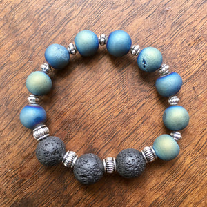 Lava Rock That!  Essential oil diffuser bracelet