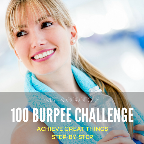30 Day Wise & Gorgeous Burpee Challenge