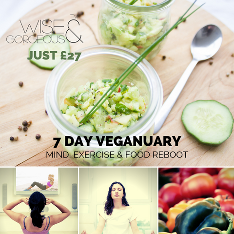 7-Day Veganuary Mind, Exercise and Food - Reboot bundle
